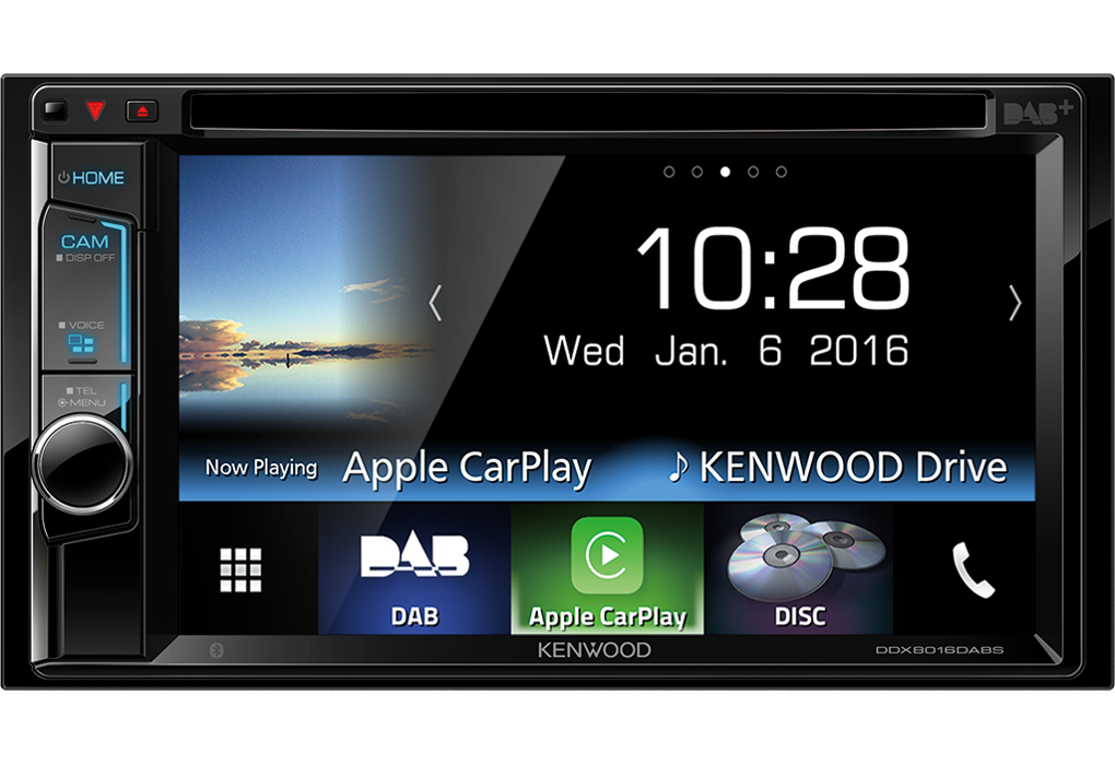"Kenwood DDX-8016DABS ""Apple Carplay"""