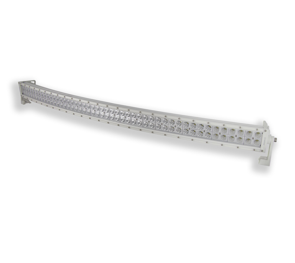 "42"" Curved Dual Row Marine LED Light Bar"