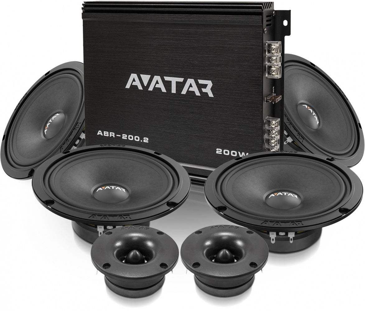 "Avatar 4x6.5""kit ABR-200,2"