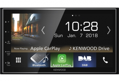 "Kenwood DMX-7018DABS ""APPLE CARPLAY"""
